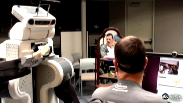 Robot Helps Quadriplegic with Daily Tasks