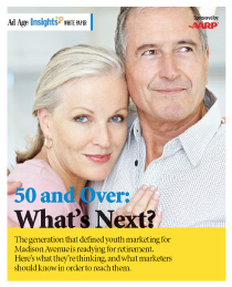 Ad Age Insights - 50 and Over: What's Next