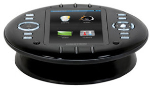Crestron's UFO-like touchscreen remote