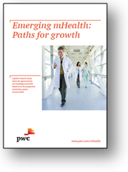 Report cover: Emerging mHealth Paths for Growth