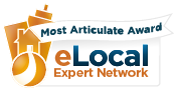 Wayne Caswell, Modern Health Talk, wins eLocal's Most Articulate Award