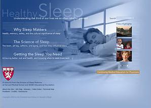 Go to Harvard Medical School's Healthy Sleep website