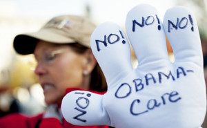 Obamacare Protest Sign