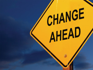Change Ahead -- but old habits die hard