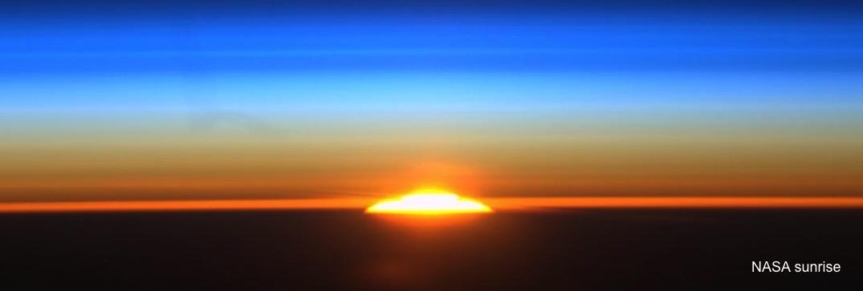 shuttle nasa sunrise - photo #34